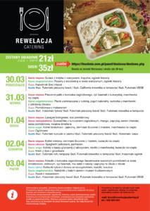 rewelacja menu